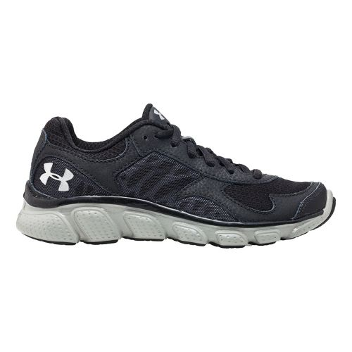 Kids Under Armour BPS Skulpt Running Shoe - Black/Charcoal 13