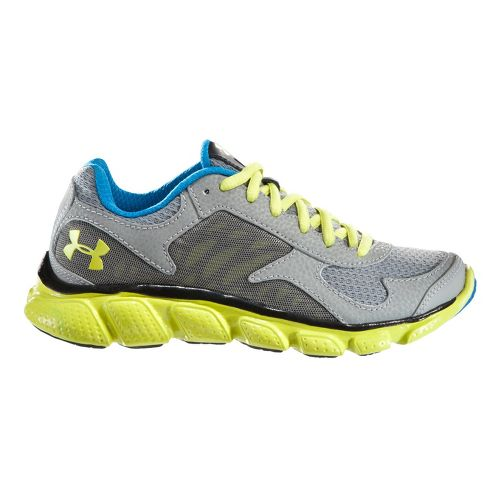 Kids Under Armour BPS Skulpt Running Shoe - Graphite/Snorkel 13.5