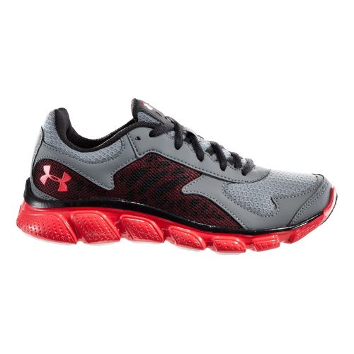 Kids Under Armour BPS Skulpt Running Shoe - Graphite/Steel 11