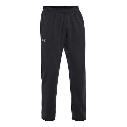 Mens Under Armour Storm Armour Fleece Cold weather Pants - Black/Graphite L