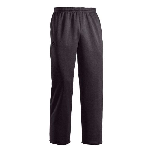 Mens Under Armour Storm Armour Fleece Cold weather Pants - Carbon Heather/Black M