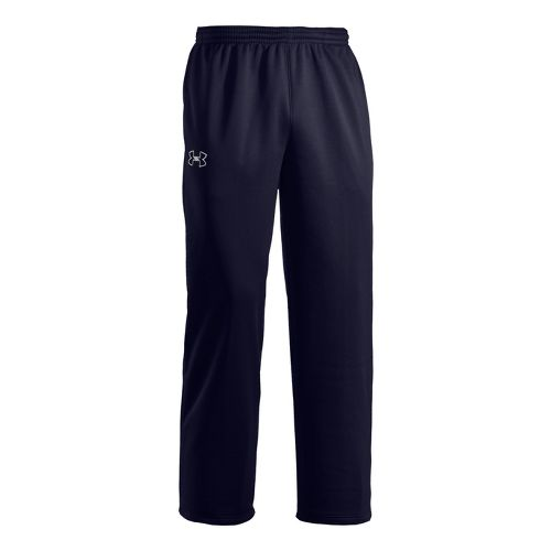 Mens Under Armour Storm Armour Fleece Cold weather Pants - Midnight Navy/White M