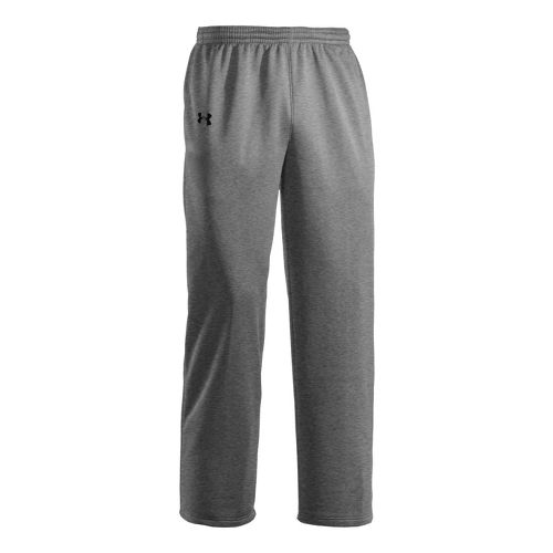 Mens Under Armour Storm Armour Fleece Cold weather Pants - True Grey Heather/Black M