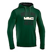 Mens Under Armour Storm Cotton Battle Hoody Long Sleeve No Zip Technical Tops
