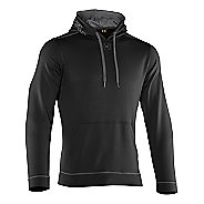 Mens Under Armour Tech Fleece Hoody Long Sleeve No Zip Technical Tops