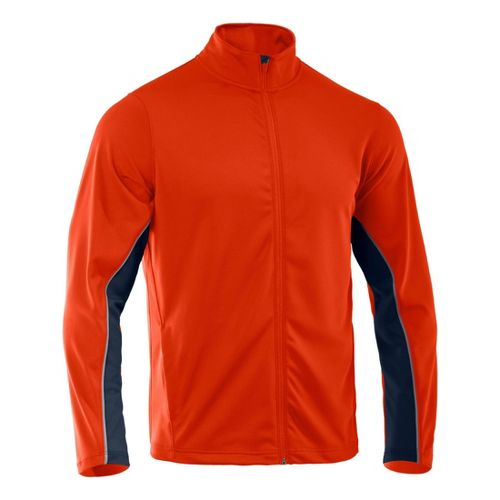 Mens Under Armour Reflex Warm-Up Running Jackets - Explosive/Cadet XL