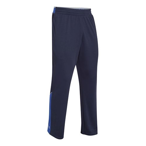Mens Under Armour Reflex Warm-Up Full Length Pants - Midnight Navy/Royal S-T