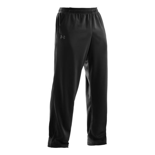 Mens Under Armour Flex Full Length Pants - Black/Graphite XL
