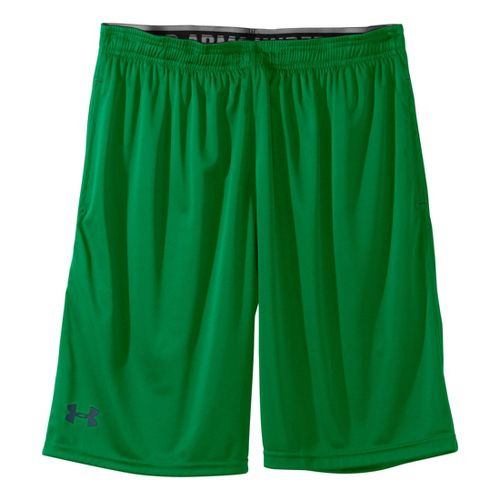 Mens Under Armour Micro Unlined Shorts - Astro Green/Wham XL