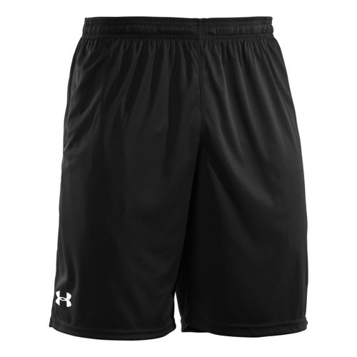 Mens Under Armour Micro Unlined Shorts - Black/White XXXL