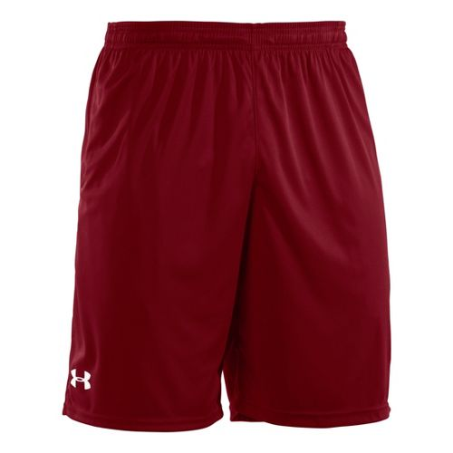 Mens Under Armour Micro Unlined Shorts - Crimson/White M