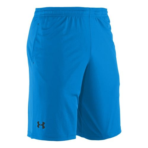 Mens Under Armour Micro Unlined Shorts - Electric Blue/Black S