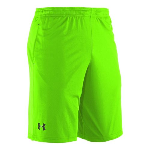 Mens Under Armour Micro Unlined Shorts - Hyper Green/Black M