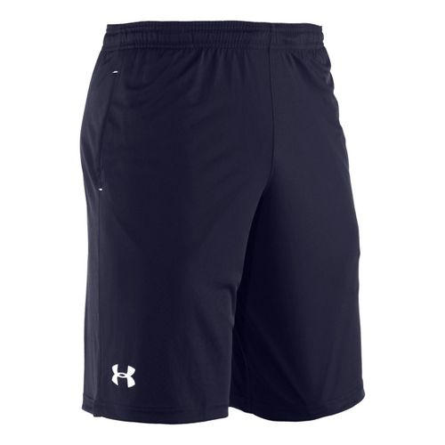 Mens Under Armour Micro Unlined Shorts - Midnight Navy/White L