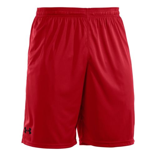 Mens Under Armour Micro Unlined Shorts - Red/Black M