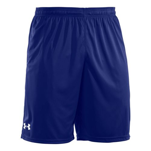 Mens Under Armour Micro Unlined Shorts - Royal/White L