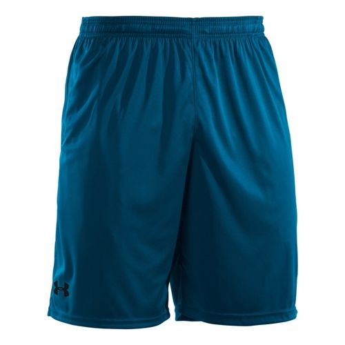 Mens Under Armour Micro Unlined Shorts - Snorkel/Black XL