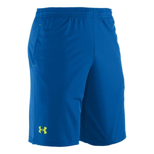 Mens Under Armour Micro Unlined Shorts - Superior Blue XL