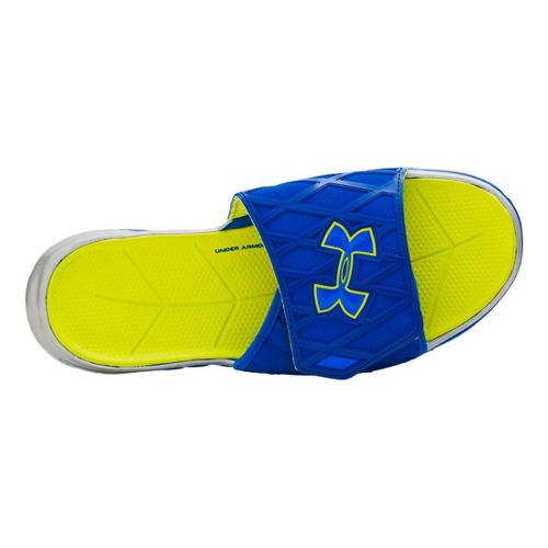 Mens Under Armour Spine SL Sandals Shoe - Snorkel/Bitter 16