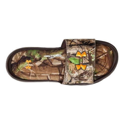 Mens Under Armour Ignite Camo II SL Sandals Shoe - Realtree AP/Timber 12