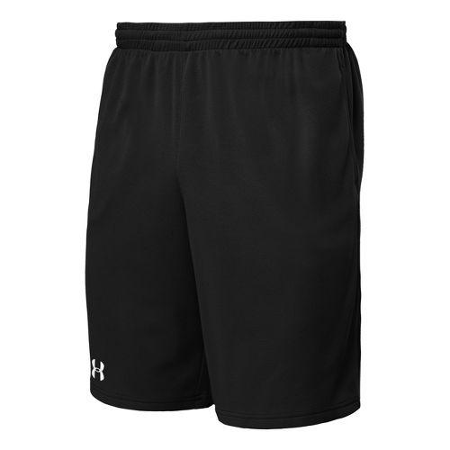 Mens Under Armour Flex Unlined Shorts - Black/White S
