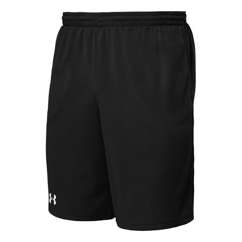 Mens Under Armour Flex Unlined Shorts - Black/White XL