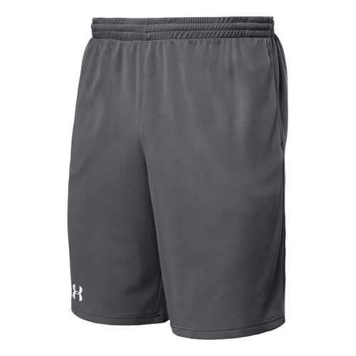 Mens Under Armour Flex Unlined Shorts - Graphite/White L