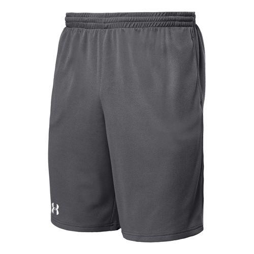 Mens Under Armour Flex Unlined Shorts - Graphite/White XS