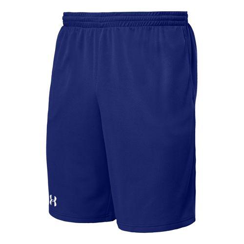 Mens Under Armour Flex Unlined Shorts - Royal/White M