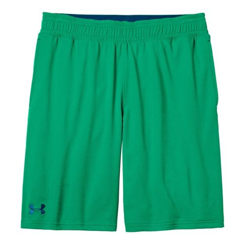 Mens Under Armour Heatgear Reflex 10 Unlined Shorts - Astro Green/Wham M