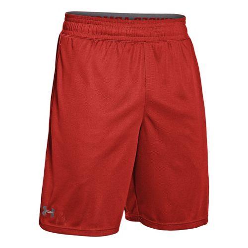 Mens Under Armour Heatgear Reflex 10 Unlined Shorts - Orange/Graphite S
