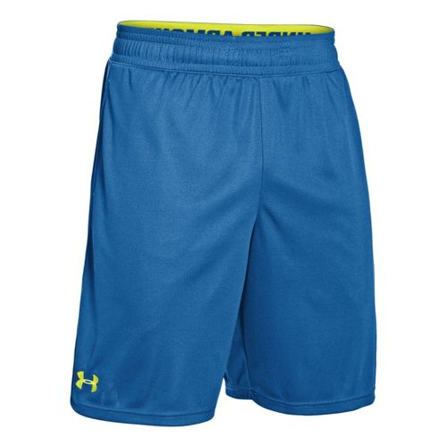 Mens Under Armour Heatgear Reflex 10 Unlined Shorts - Superior Blue/Flash Light M