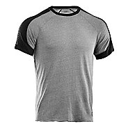 Mens Under Armour Charged Cotton Contender T Short Sleeve Technical Tops
