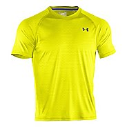 Mens Under Armour Tech Emboss T Short Sleeve Technical Tops