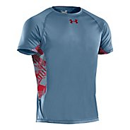 Mens Under Armour HeatGear Flyweight T Short Sleeve Technical Tops