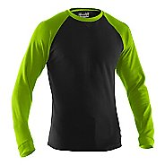 Mens Under Armour Thermal Crew 2.0 Long Sleeve No Zip Technical Tops