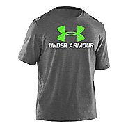 Mens Under Armour Sportstyle III Logo T Short Sleeve Non-Technical Tops