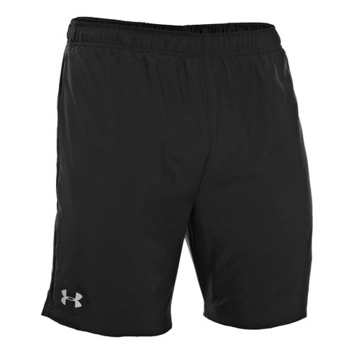 Mens Under Armour Sixth Man 2-in-1 Shorts - Black/Red XL