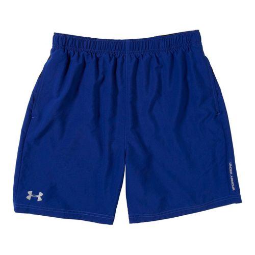 Mens Under Armour Sixth Man 2-in-1 Shorts - Caspian/Black XL