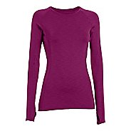 Womens Under Armour  ColdGear Cozy Crew Long Sleeve No Zip Technical Tops