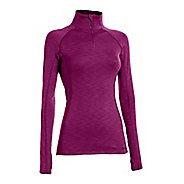 Womens Under Armour  ColdGear Cozy Long Sleeve 1/2 Zip Technical Tops