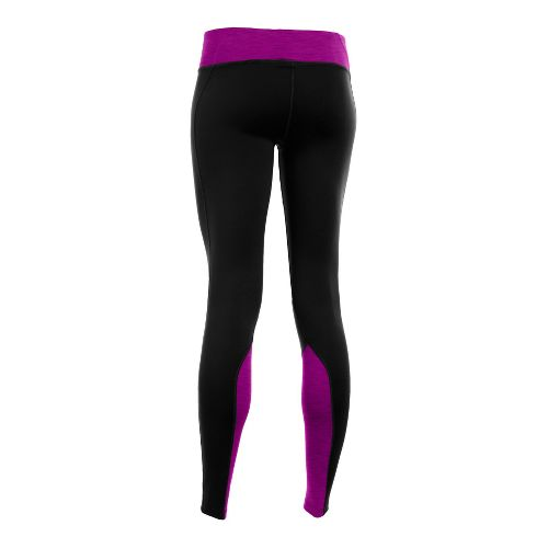 Womens Under Armour ColdGear Cozy Fitted Tights - Black/Strobe L