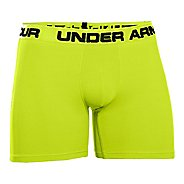 "Mens Under Armour Ribbed 6"" Boxerjock Boxer Brief Underwear Bottoms"