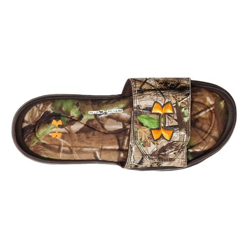Kids Under Armour Ignite Camo II SL Sandals Shoe - Realtree AP/Timber 2
