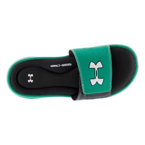 Kids Under Armour Ignite III SL Sandals Shoe - Green/Black 7
