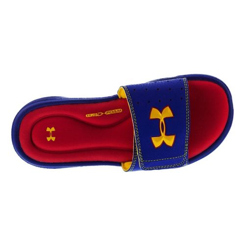 Kids Under Armour Ignite III SL Sandals Shoe - Royal/Taxi 3