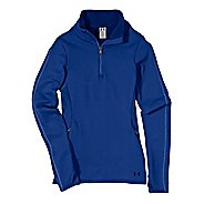 Womens Under ArmourStretch ColdGear 1/4 Zip Long Sleeve Technical Tops