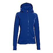 Womens Under Armour ColdGear Infrared Storm Full Zip Warm-Up Hooded Jackets
