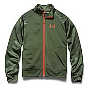 Kids Under Armour Boy Brawler II Full Zip Running Jackets