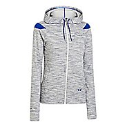 Womens Under Armour Charged Cotton Storm Marble Full Zip Warm-Up Hooded Jackets